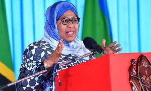 Rais wa Jamuhuri ya Muungano wa Tanzania Samia Suluhu Hassan