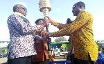 Makongoro Nyerere apokea Mwenge wa Uhuru Manyara
