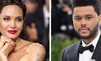 Mrembo Angelina Jolie na The Weeknd gumzo mitandaoni
