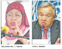 Katibu Mkuu UN ampongeza Samia