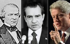 Marais wengine wa Marekani akiwamo Clinton waliwahi kushitakiwa