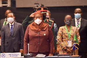 Rais Samia Ahudhuria Mkutano Wa SADC Msumbiji