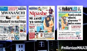 Habari kubwa za Magazeti ya Tanzania leo September 15, 2021