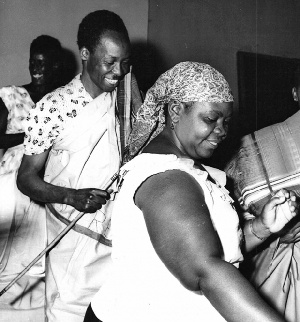Nyerere With Bibi Titi