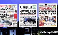Habari kubwa za Magazeti ya Tanzania leo August 2, 2021
