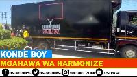 Hiki ndicho kilichotokea mgahawa wa Harmonize unaotembea