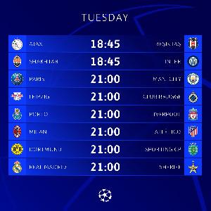 Mechi za UEFA, Septemba 28