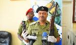 Polisi warushiana risasi na majambazi ,wawili wauawa watatu wakimbia