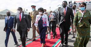 Mashujaa Day: Rais wa Malawi Lazarus Chakwera awasili Nairobi
