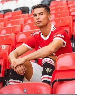 Mshambuliaji wa Man United, Cristiano Ronaldo