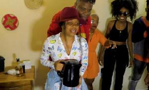 Nandy alivyoshindwa challenge nakupewa yai anywe, Baba levo aingilia kati (video+)
