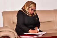 Rais Samia Amlilia Mwenyekiti wa CCM Kusini Unguja