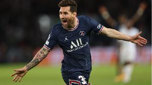 Messi afunga goli lake la kwanza akiwa na PSG
