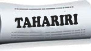 Taarifa kwa watumiaji wa silaha