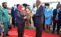 PICHA 3:Rais Samia Suluhu Hassana amewasili nchini Burundi