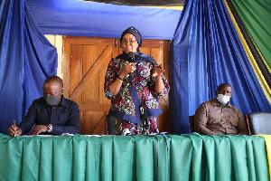 Mkuu wa mkoa wa Tabora Balozi Dkt. Batilda Buriani