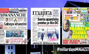Habari kubwa za Magazeti ya Tanzania leo June 16, 2021