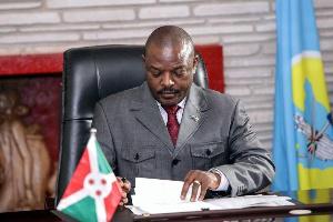 Bunge Burundi lapitisha mabilioni kwa Rais Nkurunziza