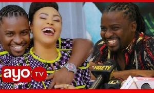Petit man alimwaga hili mbele ya waandishi kuhusu Esma Platnumz (video+)