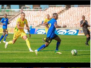 Mfungaji pekee wa Goli la Stars, Simon Msuva