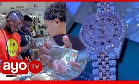 Mtaalamu wa Saa kuhusu saa aliyonunua Diamond Marekani (video+)