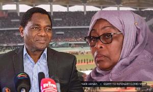 Live:Rais Samia ahudhuria uapisho wa Rais wa Zambia