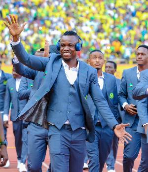 Mshambuliaji wa Yanga, Heritier Makambo