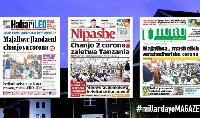 Habari kubwa za Magazeti ya Tanzania leo July 22, 2021