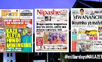 Habari kubwa za Magazeti ya Tanzania leo January 22, 2021
