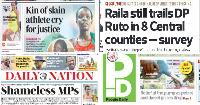Magazeti Ijumaa: Umaarufu wa DP Ruto Mt Kenya sasa waanza kuyeyuka