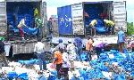 Tani 52 za mchele zateketezwa Zanzibar