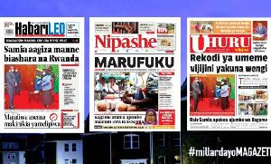 Habari kubwa za Magazeti ya Tanzania leo June 4, 2021